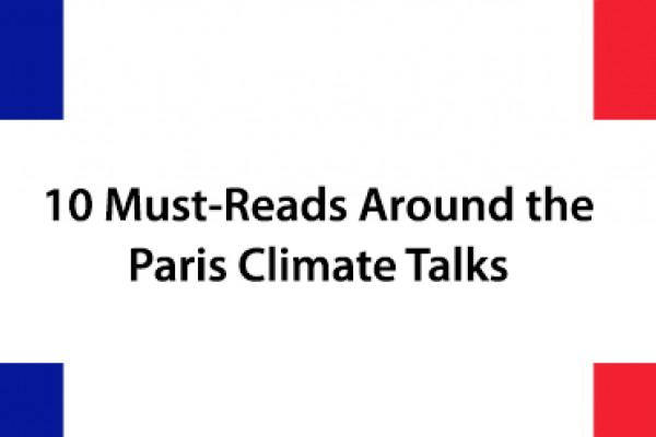 10 SP Must-Reads Around the Paris Climate Talks
