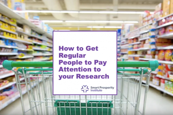 Video | How to get regular Canadians to pay attention to your research